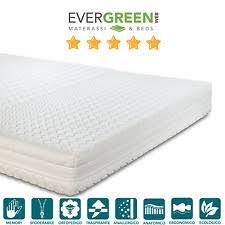 materasso evergreen materassi ortopedici ipoallergenico 1 piazza e mezza per letto ebay