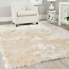 Soft Area Rug Fluffy Area Rug Rugs Ideas With Regard To White Plush
