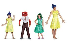 Inside Out Costumes Halloween 2015 Top Disney Costumes For All Ages Halloween