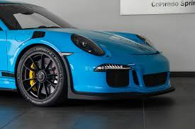 miami blue porsche gt3 rs 2016 porsche 911 gt3 rs for sale in colorado springs co c137