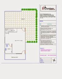 Home Design 50 Sq Ft by Triplex House Plan In 33 50 Sq Ft Ghar Planner