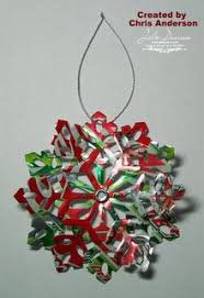 diet coke flower ornament recycled soda pop can