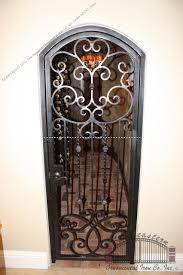 door grilles wine doors