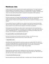 personnel specialist sample resume warehouse lead position resume 26 job description sample