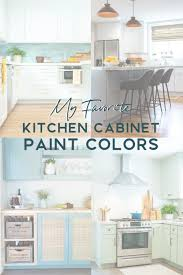 light green painted kitchen cabinets my 6 favorite kitchen cabinet paint colors the by