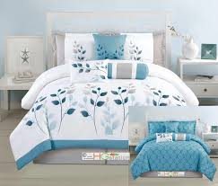 Bedroom Sheets And Comforter Sets Blue Hg Station Comforters Sears