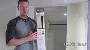 How To Install A Pantry Cabinet How To Install A Folding Accordion Closet Door Youtube