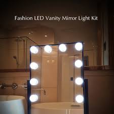 vanity mirror with led lights vanity mirror led light kit with touch control sales online us tomtop