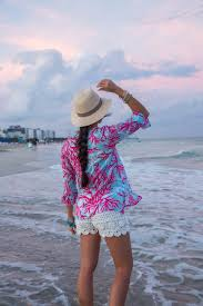 Purple Flag Beach Stylish Beach Attire That You Can Wear On And Off The Beach