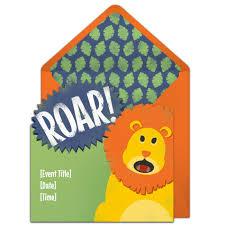 free roaring lion invitations lion king birthday free birthday