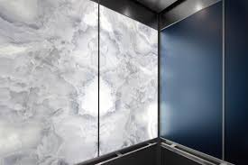 levele 106 elevator interiors architectural forms surfaces