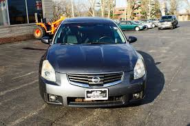 2007 nissan maxima se gray sedan used car sale