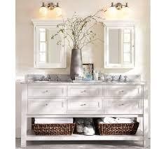 Bathroom Vanity Sconces Mercer Double Sconce Pottery Barn