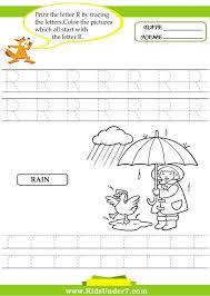 letter r worksheets for kindergarten brandonbrice us pics