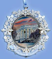 2009 official white house historical society ornament in