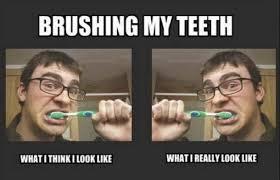 Brushing Teeth Meme - brushing my teeth meme guy