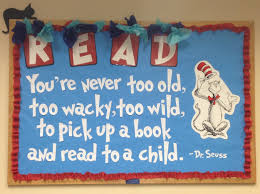 Dr Seuss Home Decor by Dr Seuss Bulletin Board Library Stuff Pinterest Dr Seuss