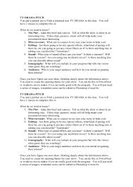 Sample Resume In Canada by Tv Drama Pitch