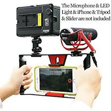 amazon com stabilizers professional video amazon com movo smartphone video enhancement kit with stabilizer