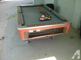 ebonite pool table 3 piece slate fischer ebonite pool table classifieds buy sell fischer ebonite