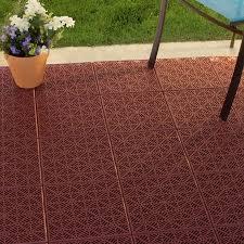 Garage Floor Tiles Cheap Garden Interlocking Patio Deck Or Garage Floor Tiles 12 X