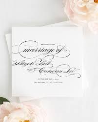 tri fold wedding program marriage wedding ceremony programs wedding programs by shine