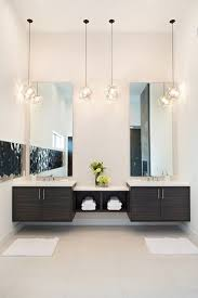 bathroom hanging light fixtures astonishing bathroom pendant light fixtures modern master with