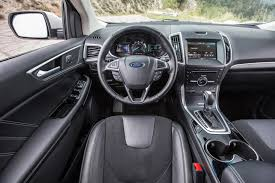 nissan murano vs ford escape 2014 ford edge cockpit interior photo automotive com