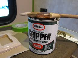 gripper is required to paint rv walls plastics and paper backed