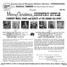 album art exchange merry christmas country style back by
