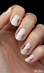 mani monday pink and rose gold bow nail tutorial nails