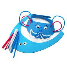 aliexpress com buy 4pcs lot children handmade eva animal hat