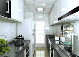 hotte industrielle cuisine avec hotte et micro ondes four perle blanc laque armoires de