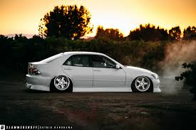 bagged lexus is300 theodore pann is300 slammedenuff