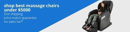 shop our best massage chairs under 5000 at emassagechair com