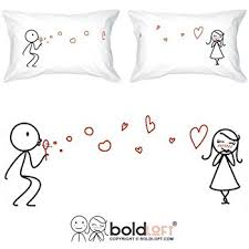 amazon com boldloft my heart is after you couple pillowcases