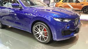 purple maserati maserati showcase its latest model line up at the qatar motor show