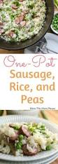 Main Dish Rice Recipes - best 25 sausage rice ideas on pinterest recipes with sausage