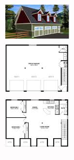 one story garage apartment floor plans plan 14631rk 3 car garage apartment with class carriage house one