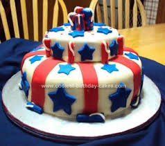 coolest patriotic cake design