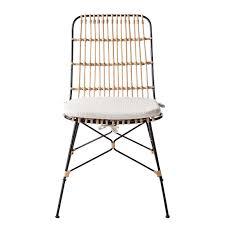 Ebay Esszimmer Rattan Esszimmerstuhl Pukaki Inkl Sitzkissen Rattan Hochlehner Stühle