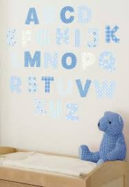 Alphabet Wall Decals For Nursery Blue Alphabet Wall Decals Nursery Rooms For
