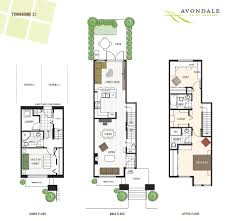 simple townhouse floor plan decor color ideas fancy under