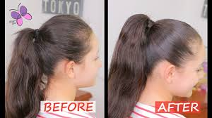 how to do a perfect ponytail quick and easy hairstyles chikas