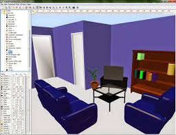 house plan program images of red and blue paint in a room office