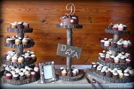 rustic wedding cupcakes rustic brown burgundy cupcakes fall wedding cakes photos