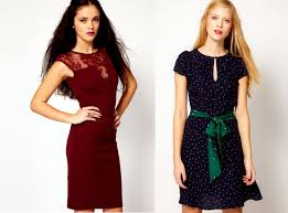 girls get amazing looks by wearing fabulously designed dresses on