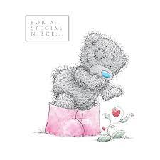 me to you for a special niece happy birthday card tatty teddy ebay