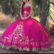 fuchsia quinceanera dresses fuchsia quinceanera dresses 2017 sweetheart beautiful golden