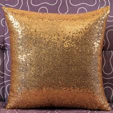 gold glitter car aliexpress com buy solid color glitter sequins throw pillow case